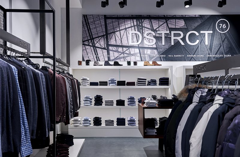 dstrct 76 store